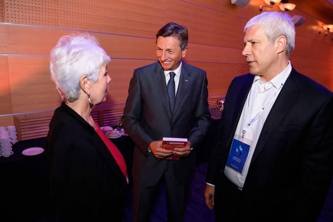 Jadranka Kosor, Borut Pahor in Tadić/Foto: Nebojša Tejić