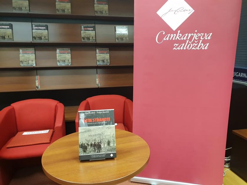 Cankarjeva založba predstavila knjigo, ki prinaša celosten pregled obdobja 1. svetovne vojne