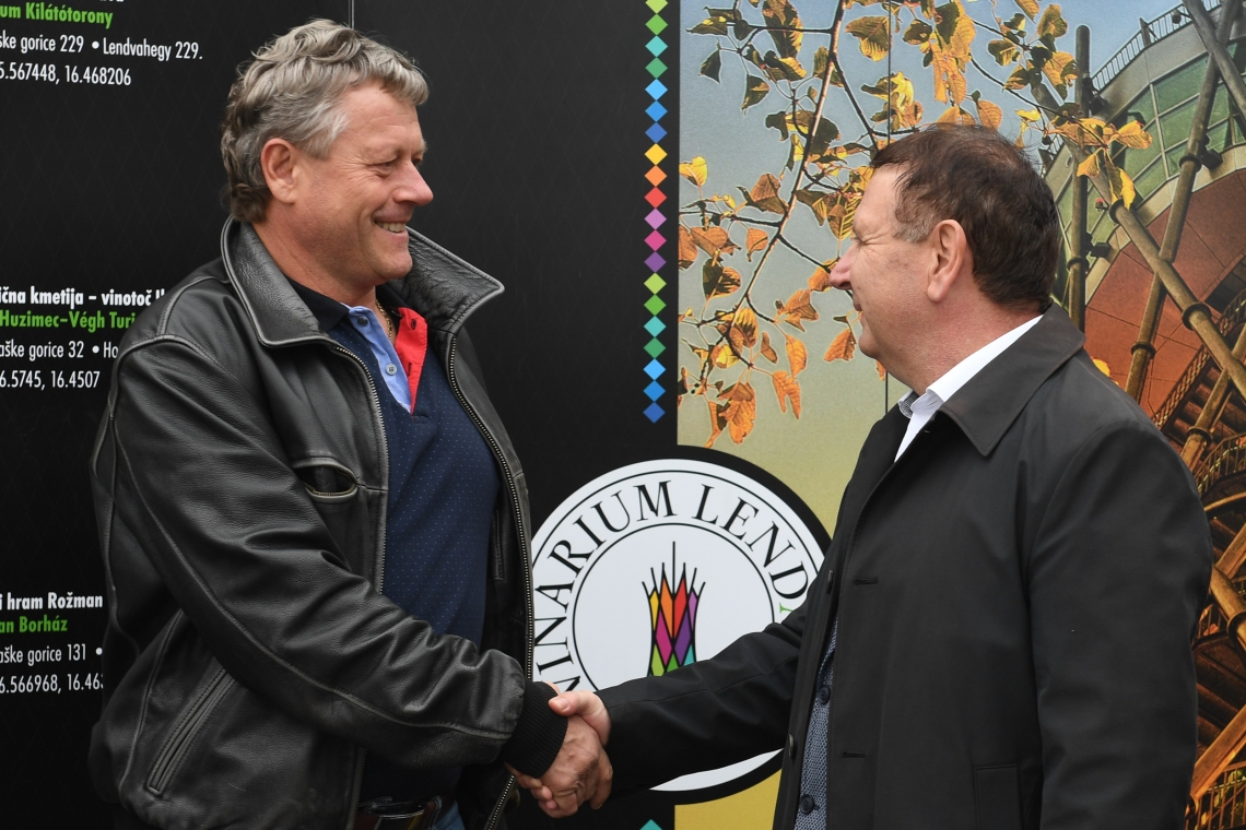 Čestital mu je tudi župan Občine Lendava