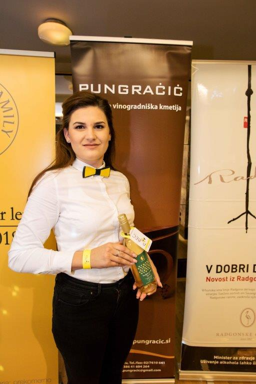 Med Pubeci je tudi Vinska kraljica Slovenije Katarina Pungračič