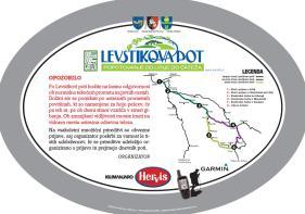 označitvana tabla in navodilo Po Levstikovi poti