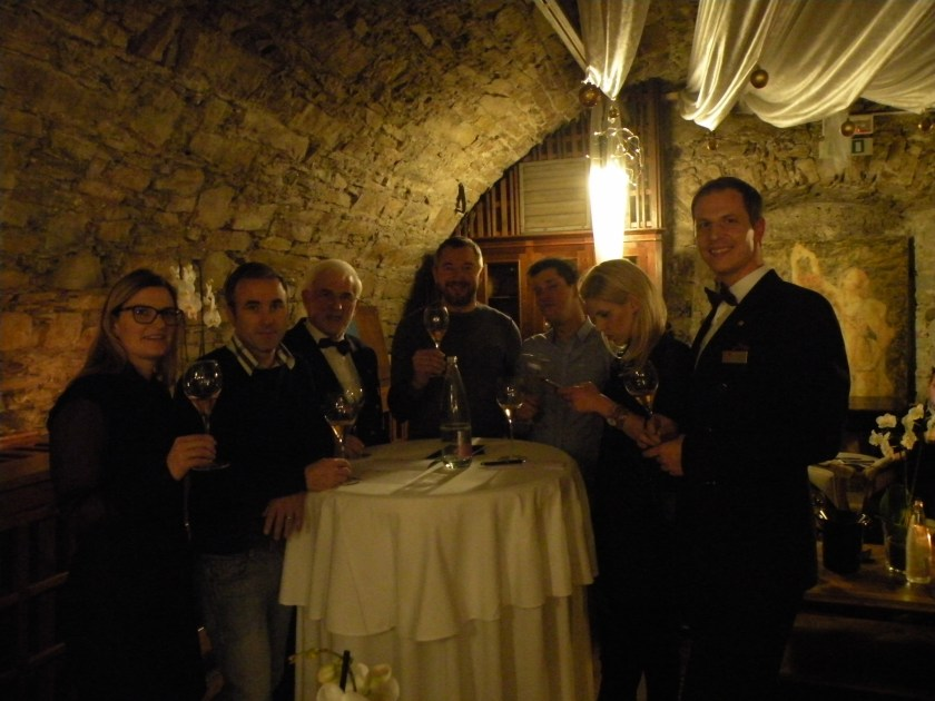 Na poučnem večeru penin v Gostilni pri Lojzetu na Zemonu