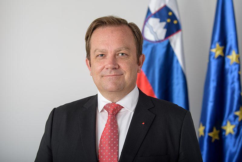 Dejan Prešiček, slovenski minister za kulturo/ Fotografija avtorska last: Vlade Republike Slovenije
