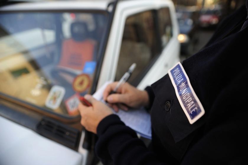 kaznovanje policije v Italiji