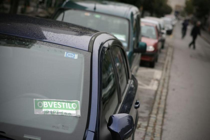 parkiranje prekrškovna kazen v ljubljani