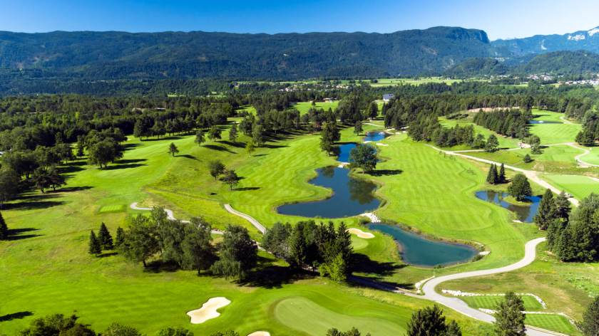 Royal Bled Golf Club Slovenija/Vir: golfscape Blog