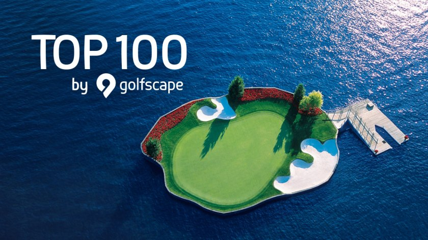 TOP 100 golf igrišč na sveti/Vir: golfscape Blog