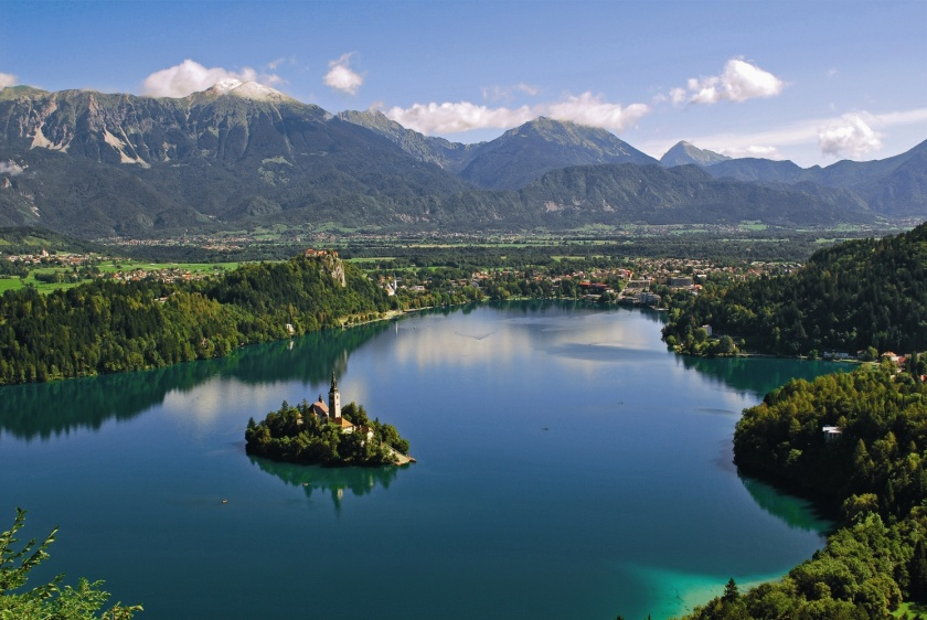Bled panoramski posnetek/Vir: Wikipedia