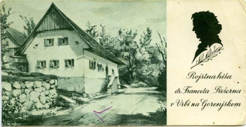 Rojstna hiša Franceta Prešerna_vir_stareslike Cerknica