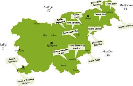 Slovenska zdravilišča