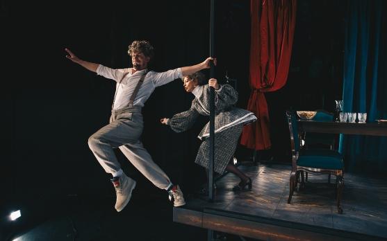 MGL premiera Molièrove komedije Tartuffe - kadri iz predstave/Press fotografije MGL: Peter Giodani