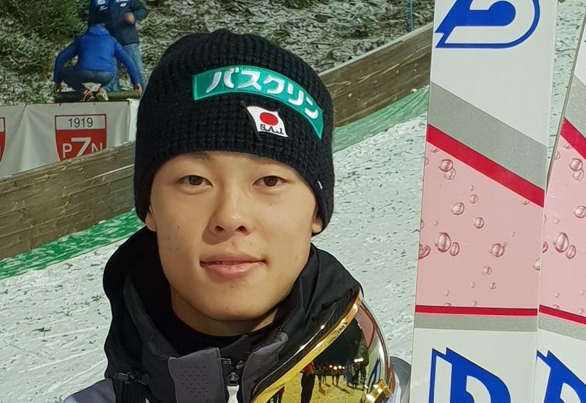 Rjoju Kobajaši, japonski skakalec, zmagovalec sezone 2018/19