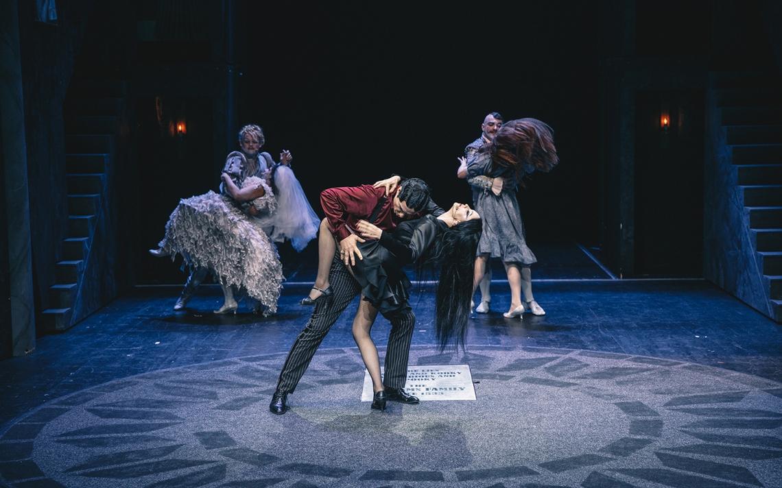 Kader premiere mjuzikla kultnih Addamsovih/Press foto MGL - Peter Giodani