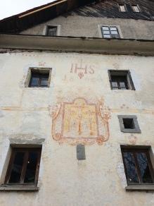 Domačija Šturmajce, ena od starih fresk