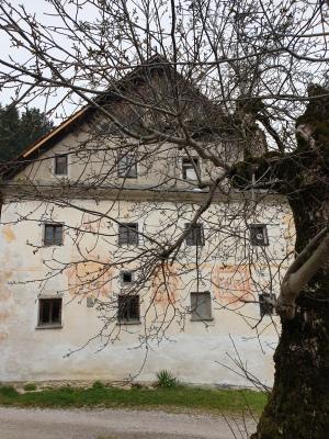 Domačija Šturmajce, freske na hiši