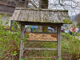 Oznaka za domačijo v Šturmajcah