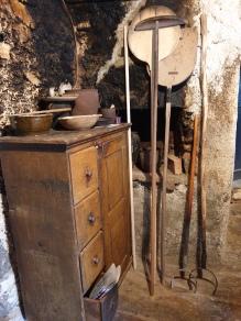 Domačija Šturmajce, pribor za črno kuhinjo