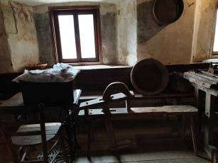 Domačija Šturmajce, notranjost hiše