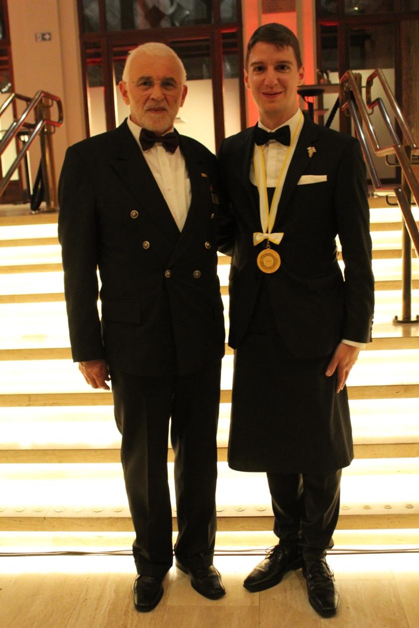 z leve Ivan Peršolja in Marc Almert-svetovni prva