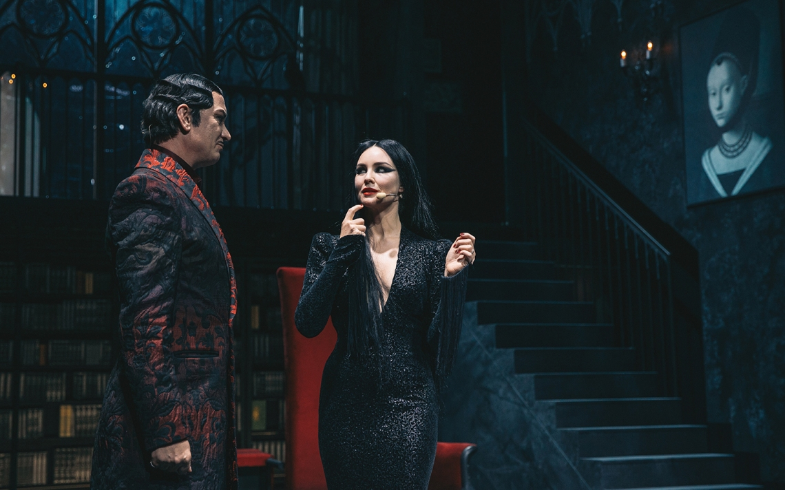 Kader premiere mjuzikla kultnih Addamsovih/Press foto MGL - Peter Giodani/