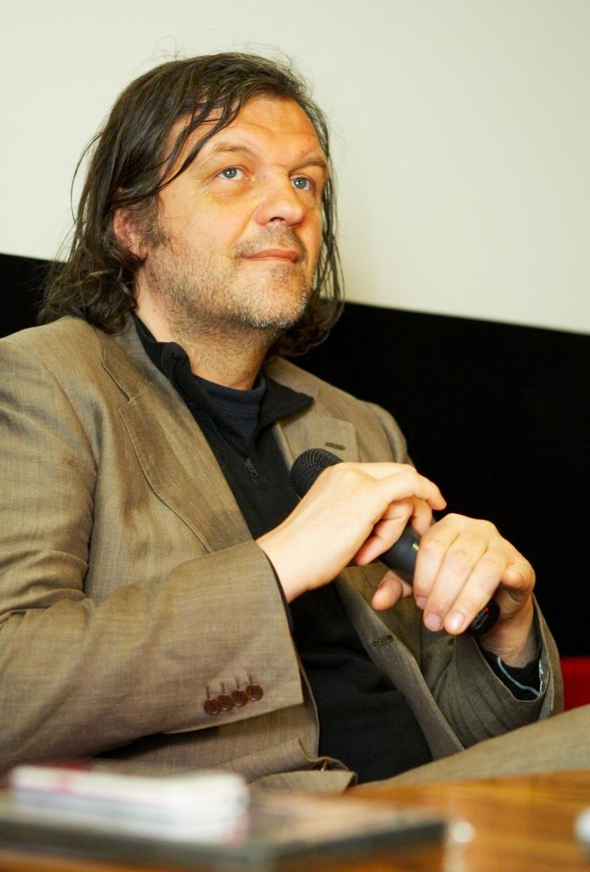 Emir Kusturica, srbski režiser/Vir: Wikipedia