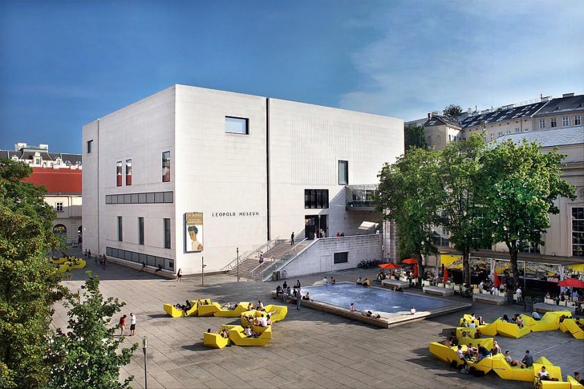 Leopold Museum - Muzejska četrt Dunaj