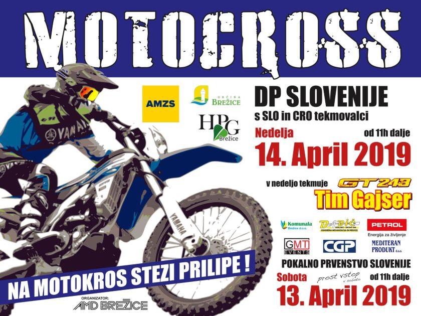 Motokros državno prvenstvo- Prilipe 2019