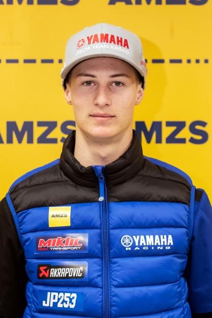 Motokrosist Jan Pancar/press AMZS