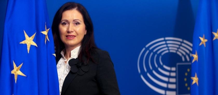 Patricija Šulin evropska poslanka SDS