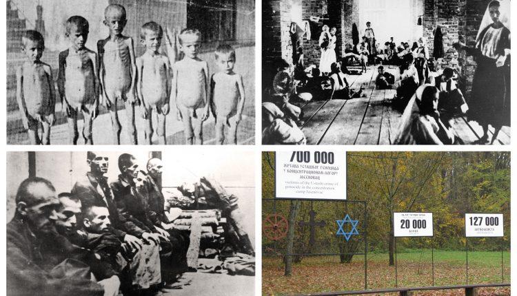 posnetki predstavitve zločinov v taborušču jesenovac