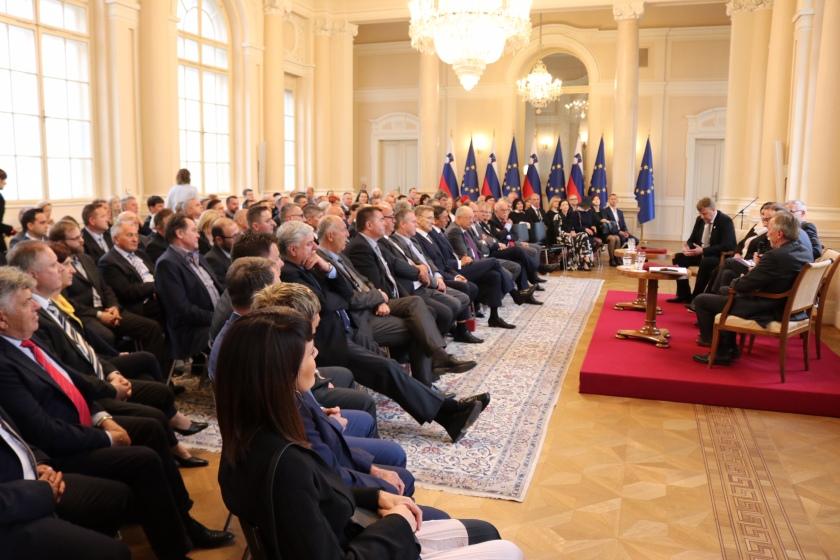 Obrtniki pri predsedniku država o svojem delu
