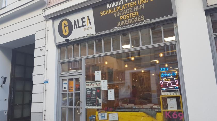 trgovina z gramofonskimi ploščami z imenom Galea Records.