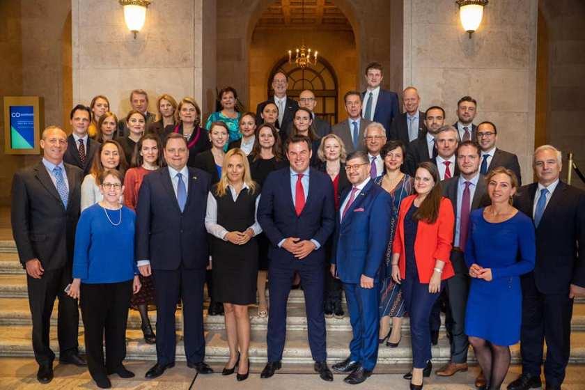 Predstavniki evrazijskih AmChamov