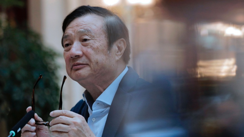 Ren Zhengfei, ustanovitelj podjetja Huawei