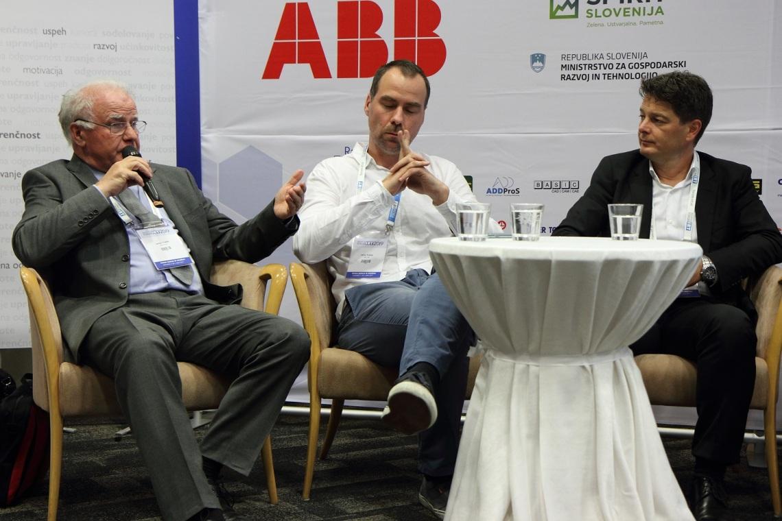 Janez Tušek, Jaka Tušek in Jože Torkar (od leve proti desni)